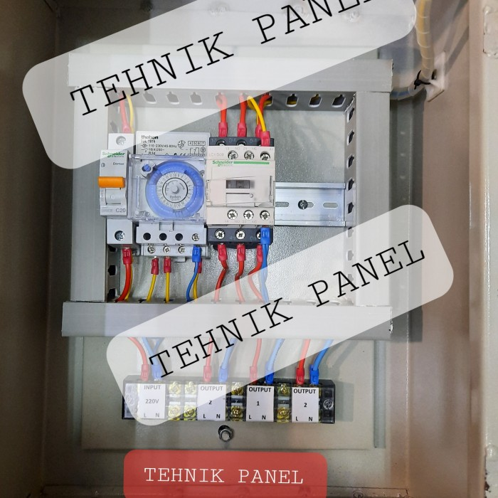 Jual Panel Lampu Taman Panel Penerangan Panel Timer Lampu Panel Outdoor Jakarta Pusat Tehnik Panel Tokopedia