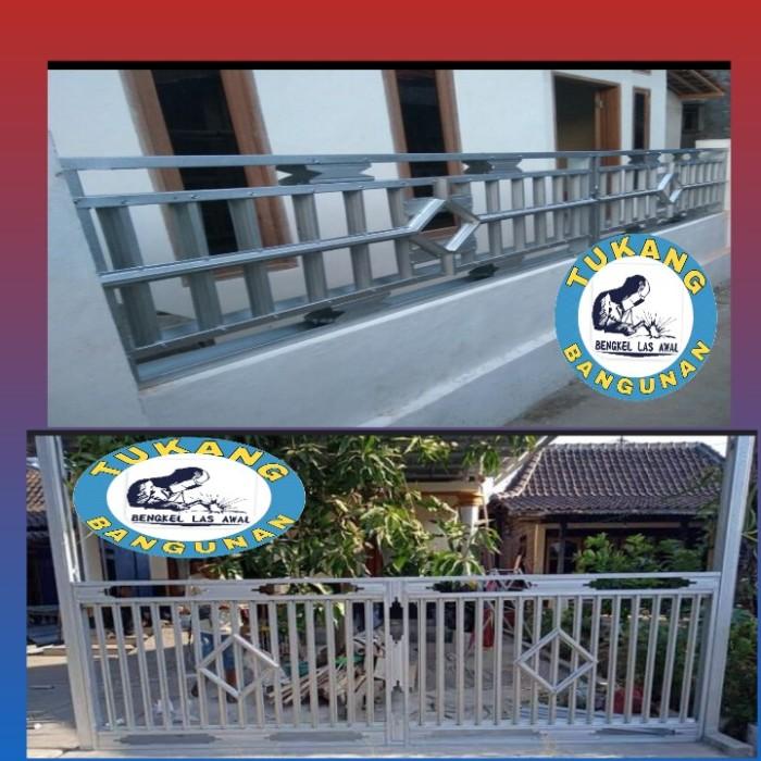 Jual Pagar Baja Ringan Kota Makassar Bengkellasawal Tokopedia