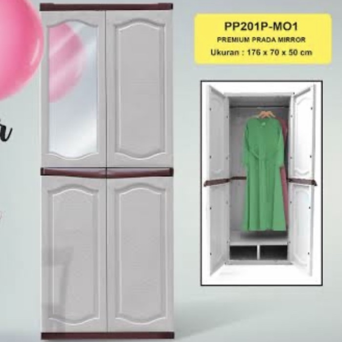 Jual Lemari Plastik Baju Gamis Jakarta Barat Furniture Pneumatic Tokopedia