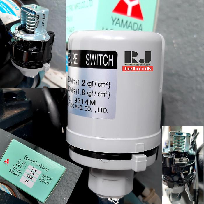 Jual Otomatis Pompa Air Pressure Switch Yamada Drat 3 8 Kota Surabaya Rejeki Jaya Tehnik Tokopedia