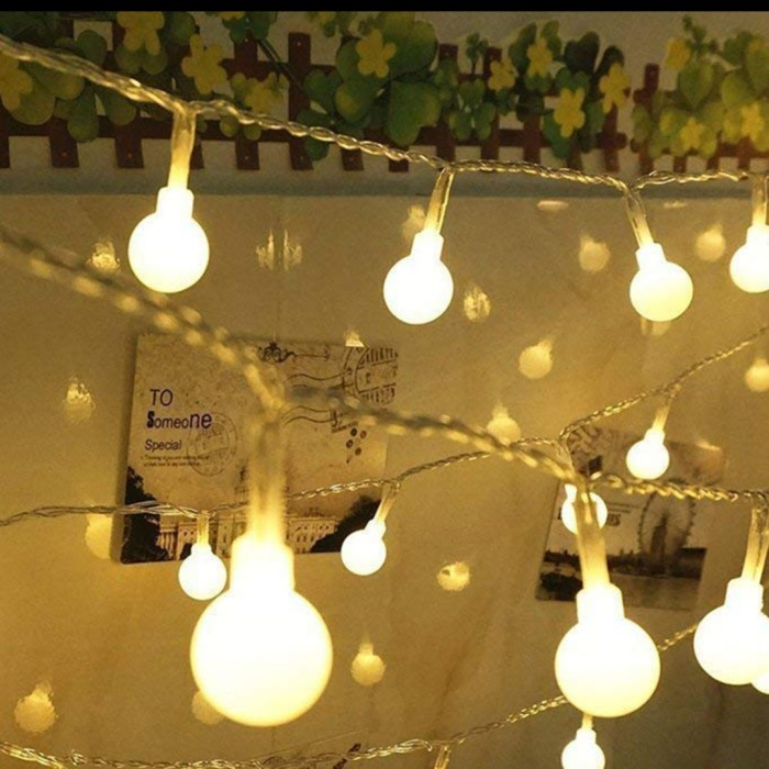 Jual Lampu Hias Gantung Lampu Taman Lampu 40 Led 6m Kota Medan Tinystuff Id Tokopedia