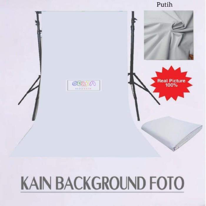 Jual Kain Background Polos Foto Studio Backdrop 100x240 Cm Putih - Kota  Tangerang Selatan - Ceria Luxury   Tokopedia
