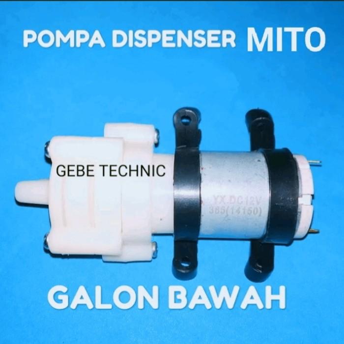 Jual Pompa Dispenser Galon Bawah Mito Kab Bekasi Gebe Technic Tokopedia