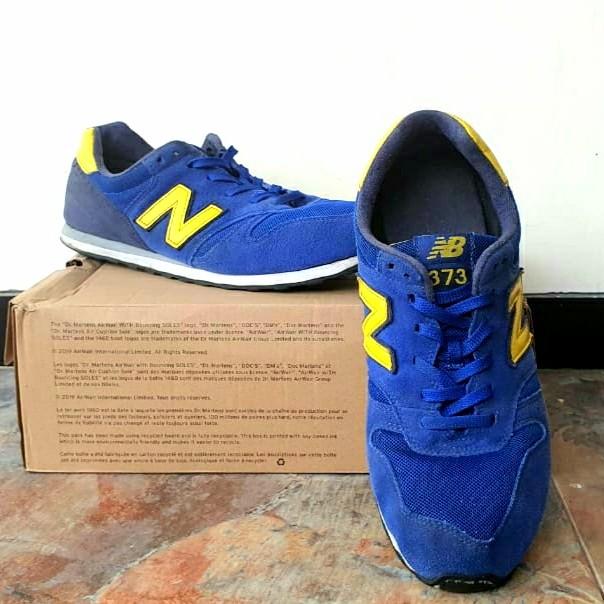 New Balance 373 Blue-yellow
