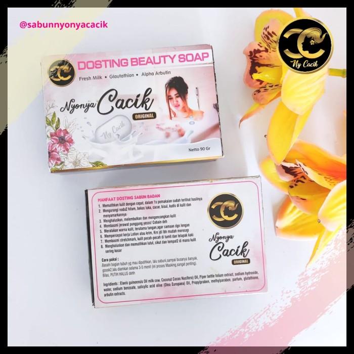 Jual Sabun Dosting Nyonya Cacik Original Sabun Alpha Arbutin Glutathione Kab Cirebon Sabun Nyonya Cacik Tokopedia