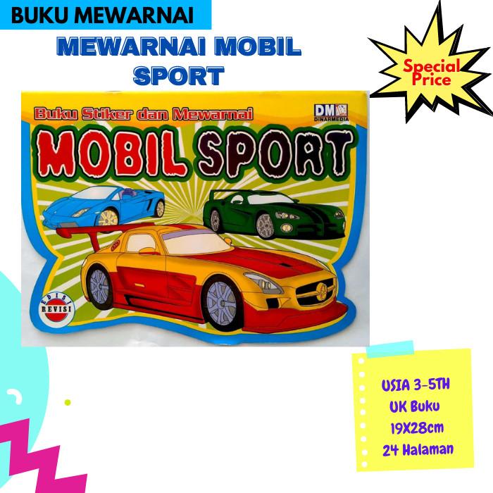 Jual Buku Anak Mewarnai Mobil Sport Kota Tangerang Selatan Happyholykids Tokopedia