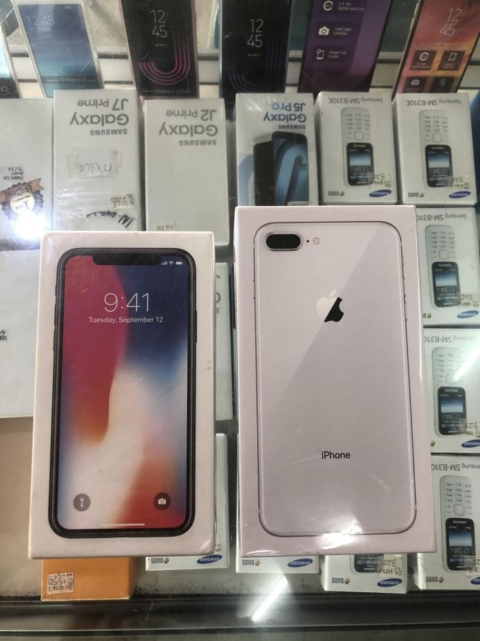 Jual Iphone 8 Plus 64gb Silver New Ibox Kota Surabaya Lido Phone Tokopedia