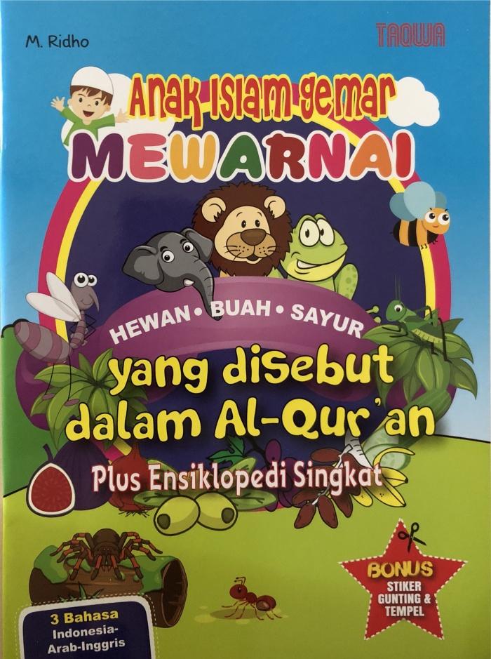 Jual Anak Islam Gemar Mewarnai Jakarta Barat Bukuindo Store Tokopedia