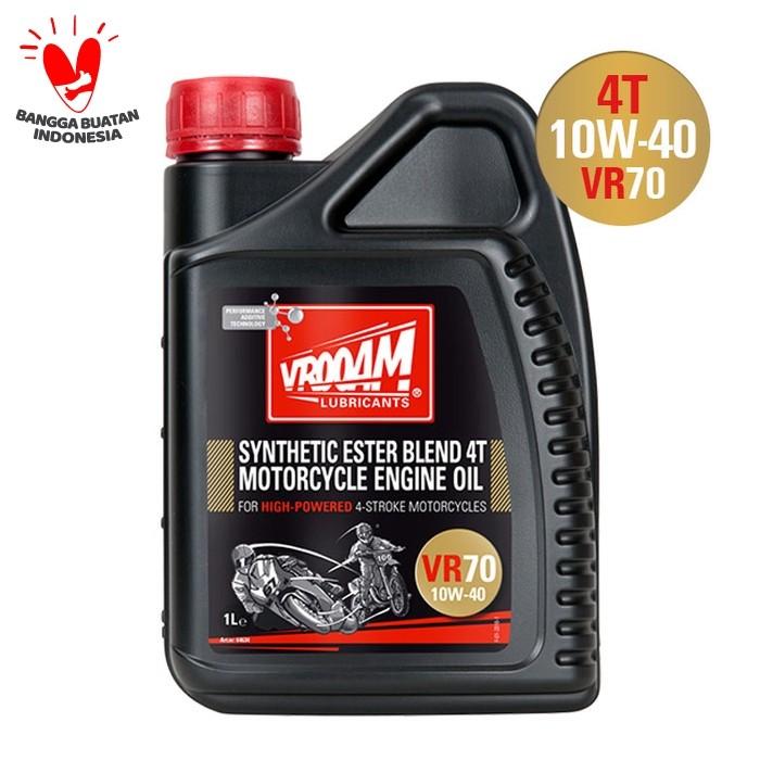 Jual Oli Mesin Vrooam Vr70 4t Motorcycle Engine Oil 10w 40 1l Jakarta Utara Kodotcorporation Tokopedia