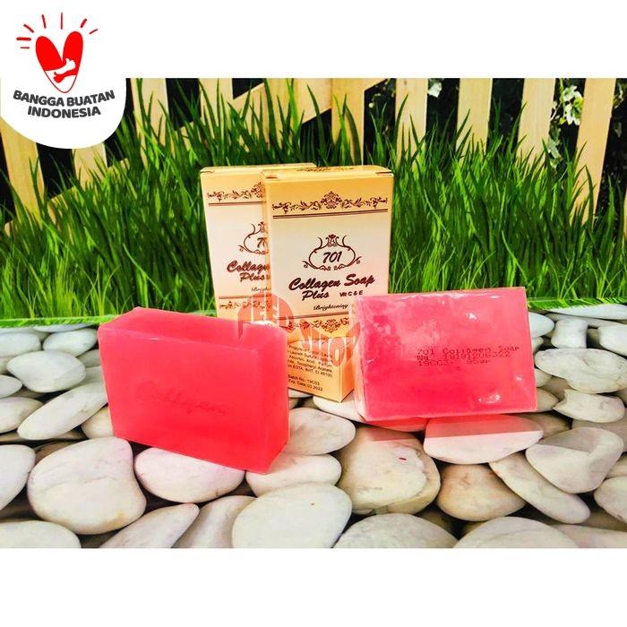 Jual 701 Sabun Collagen Kolagen Brightening Soap Plus Vit C E Bpom Jakarta Barat Need Shop Tokopedia