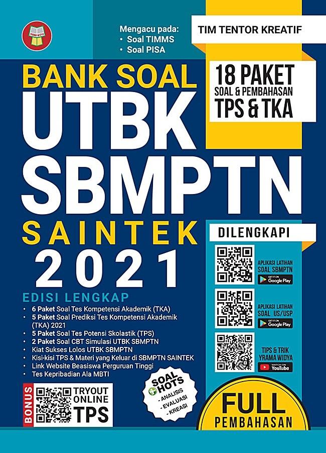 Jual Bank Soal Utbk Sbmptn Saintek 2021 Jakarta Timur Gramedia Official Store Tokopedia