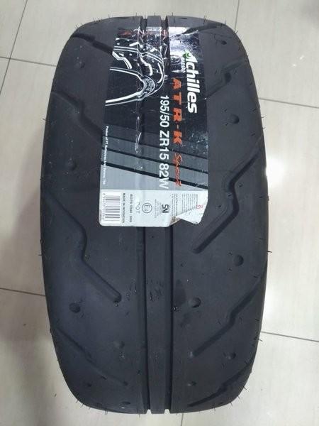 Jual Achilles Atr K Sport 195 50 R15 Ban Mobil Semi Slick Drag Order Now Jakarta Timur Tripod Auto Car Tokopedia