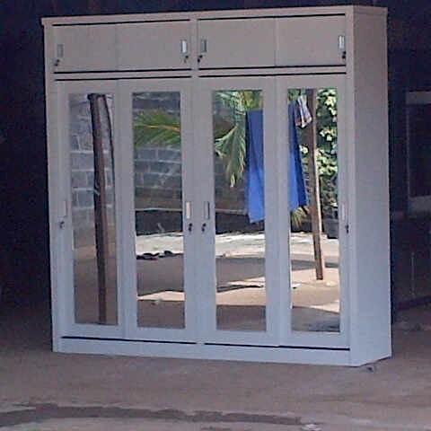Jual Lemari Kaca 4 Pintu Kota Tangerang Rival Furniture Tokopedia