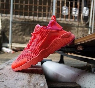 Original Nike Huarache Ultra Orange-purple