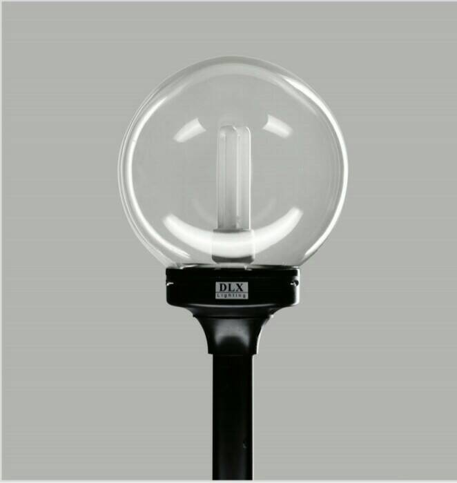 Jual Lampu Taman Bulat Bening Diameter 22 5cm Jakarta Timur Krisandy Electrik Tokopedia