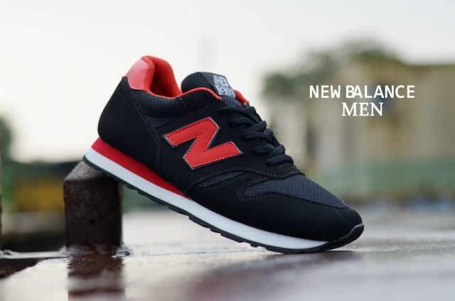 New Balance 373 Man Series Black Red