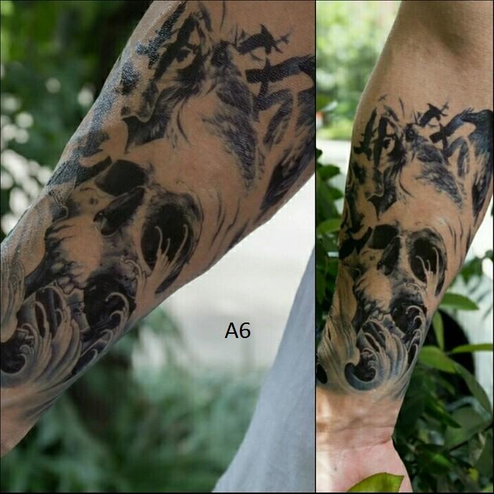 Jual Stiker Tatto Temporary Tato Temporer Ukuran Besar Premium Kota Sukabumi Dclete Shope Tokopedia