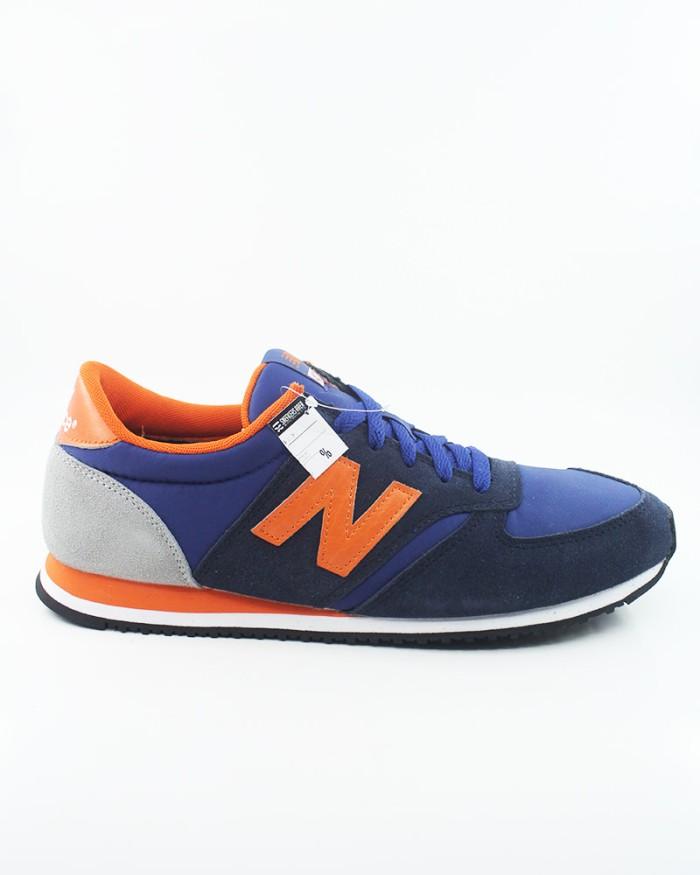 New Balance U 420 Sbo Navy Blue Orange Grey Original Murah