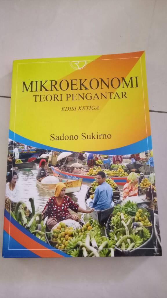 Jual Buku Mikroekonomi Teori Pengantar Edisi Ke Tiga Sadono Sukirno Kota Depok Fanya Books Tokopedia