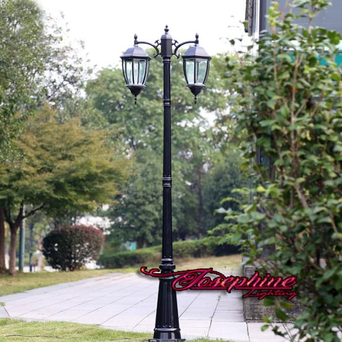 Jual Lampu Taman Tiang Outdoor Cabang 2 Seri 05 2 13 Meter Tembaga Jakarta Timur Josephine Lighting Tokopedia