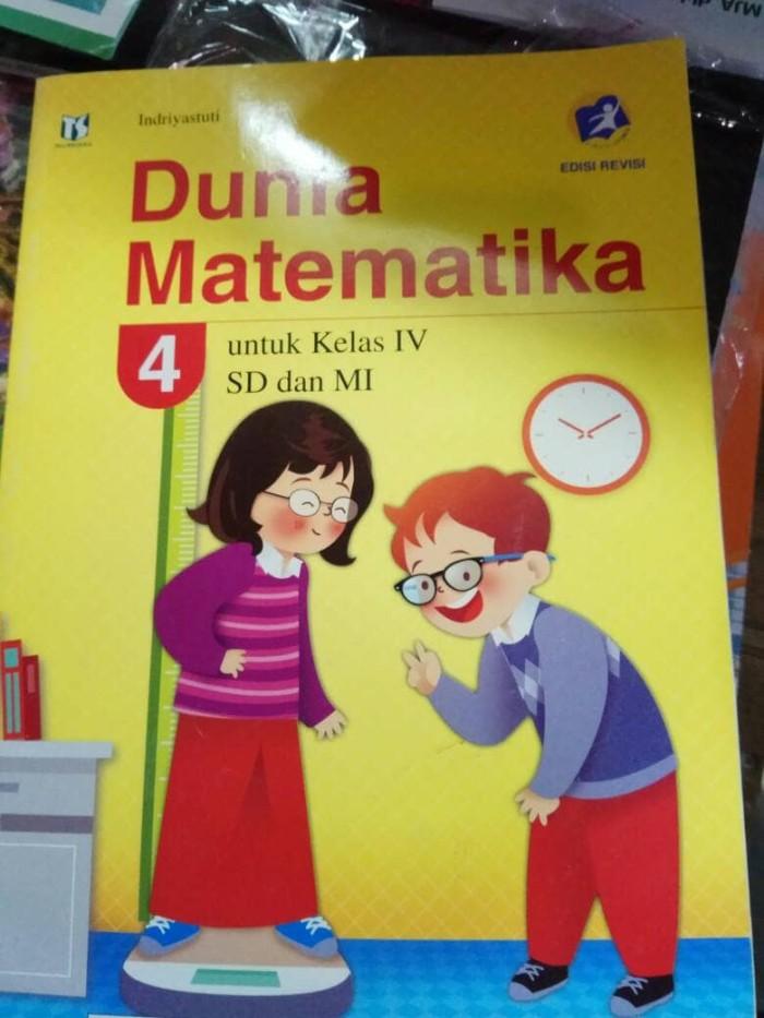 Jual Dunia Matematika Kelas 4 Revisi Tigaserangkai Jakarta Timur Toko Buku Jawa Tokopedia