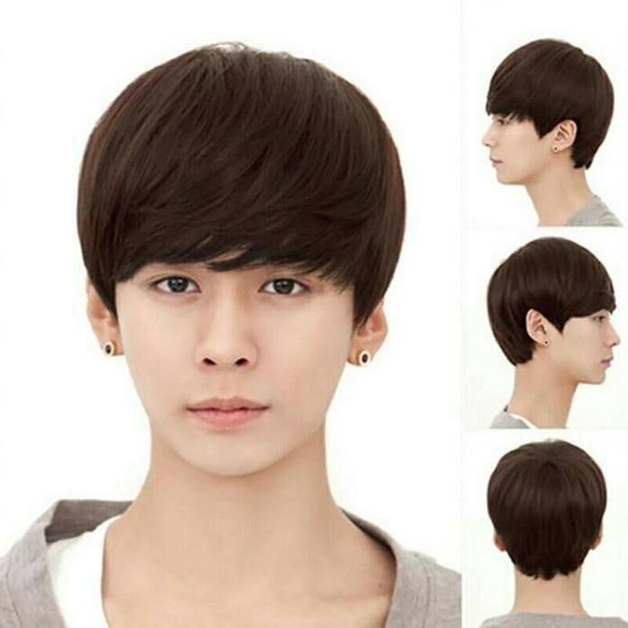 Jual Wig Cowok Rambut Palsu Wik Wic Wec Model Gaya Emo Korea Keren Kota Tangerang Bhc Gallerybarbertools Tokopedia