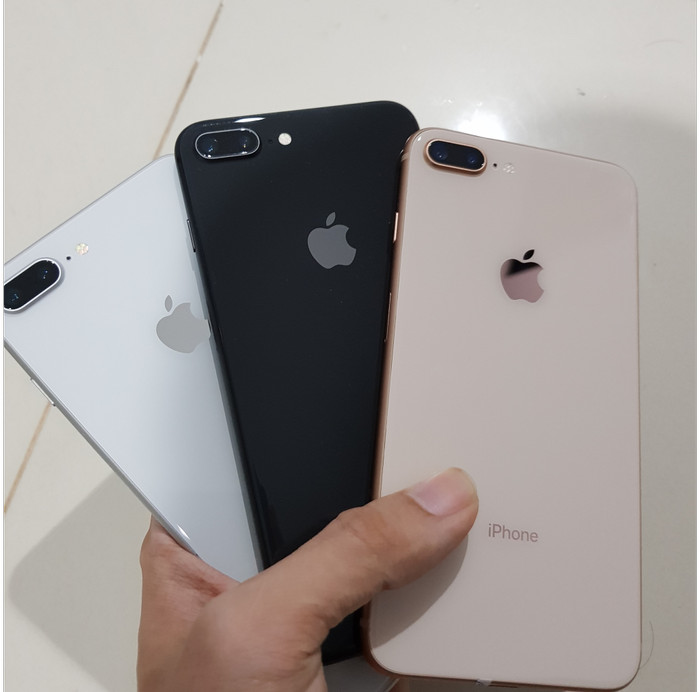 Jual Iphone 8 Plus 256gb Mulus Ori Fullset Normal Iphone 8 256gb Kota Batam Evostore Tokopedia