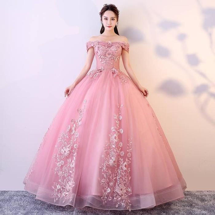 Jual Gaun Pengantin Import Prewedding Wedding Dress Warna Gi88945 Terbaru Jakarta Timur Kebaya Jadi Gaun Baru Tokopedia
