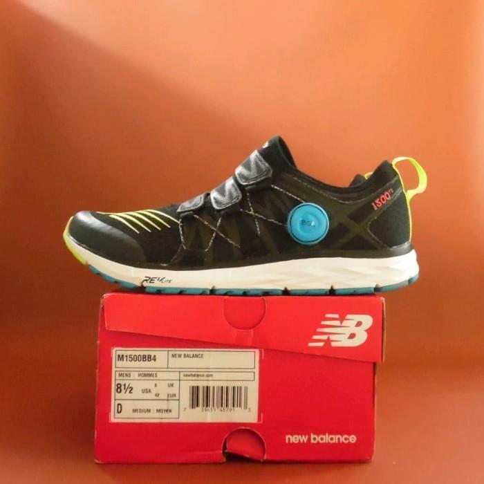 Lari Terbaik Sepatu Running Lari Original New Balance 1500 T2 Boa 150