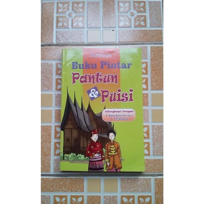 Jual Buku Pintar Pantun Puisi Kota Depok Delani Bookstore Tokopedia