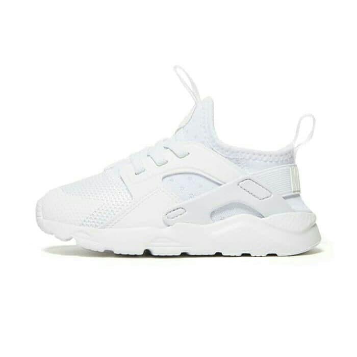 Sepatu Nike Air Huarache Full White Anak