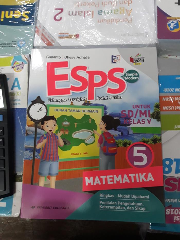 Jual Promo Buku Esps Matematika Kelas 5 Revisi K13n Erlangga Jakarta Pusat Opan Yolanda Tokopedia