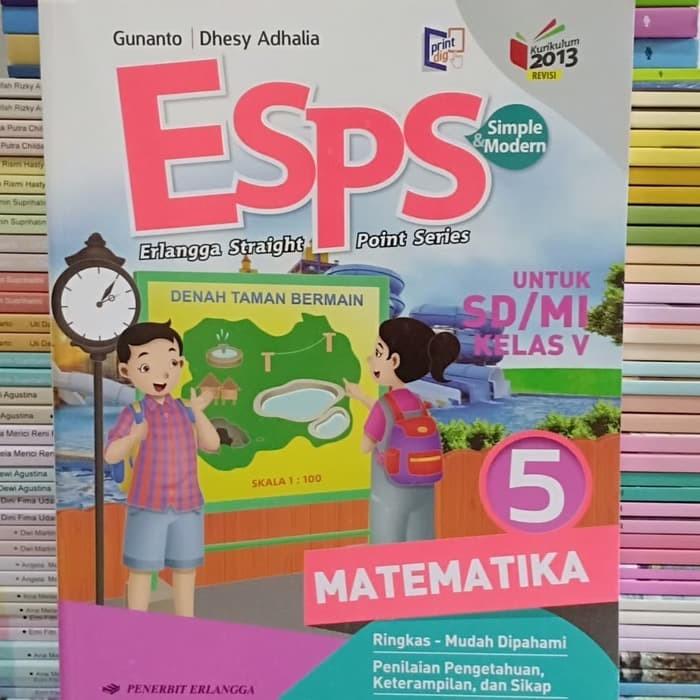 Jual Buku Sd Kelas 5 Buku Esps Matematika Kelas 5 Sd Erlangga Jakarta Selatan Putri Siregar Tokopedia