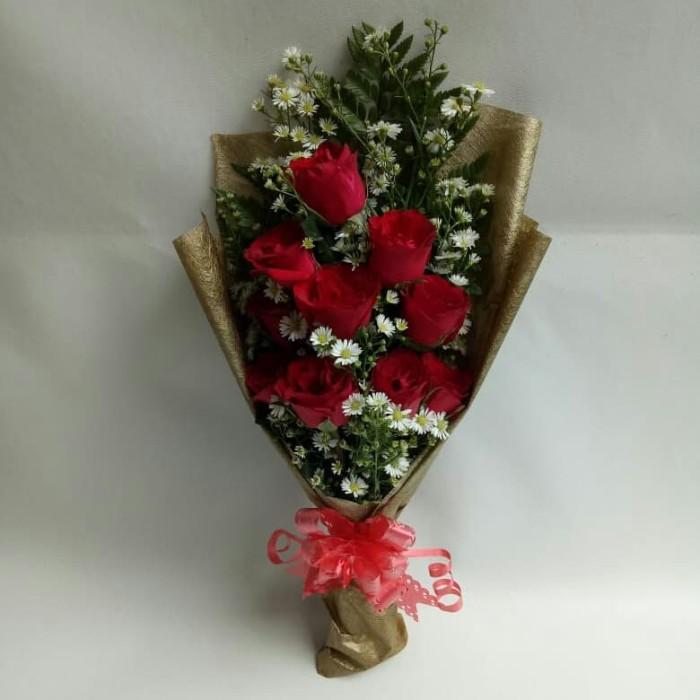 Jual Handbouqet Bunga Tangan Bunga Mawar Toko Bunga Jakarta Barat Freshcut Flower Tokopedia