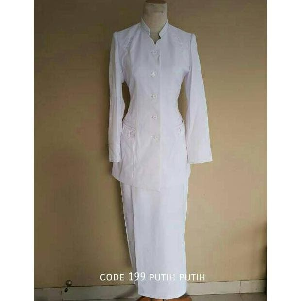 Baju Bidan Putih