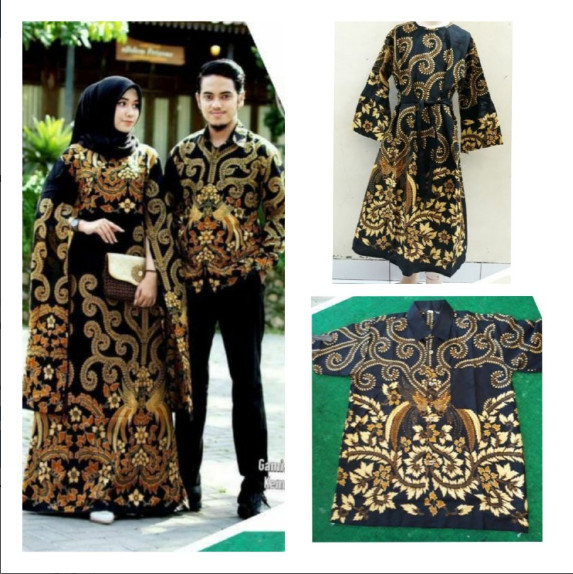 Jual Baju Batik Couple Keluarga Modern Gamis Kelelawar Kemeja Panjang Kab Pekalongan Aziz Shop973 Tokopedia