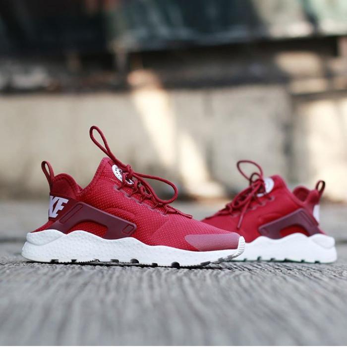 Nike Air Huarache Run Ultra Redwhite Original
