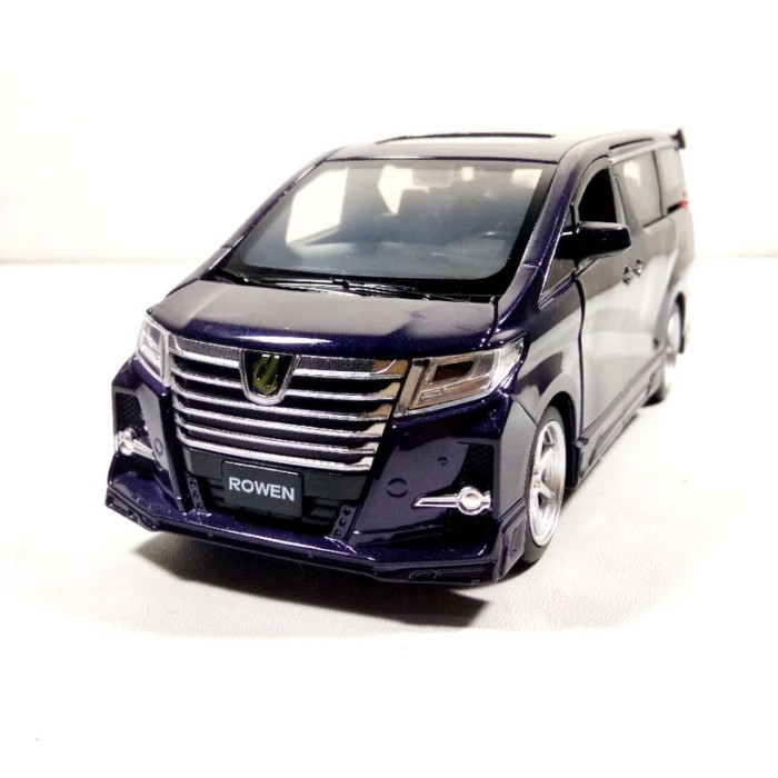 Jual Miniatur Mobil Toyota Alphard Rowen Ungu Kota Bekasi Duniaminiatur Tokopedia