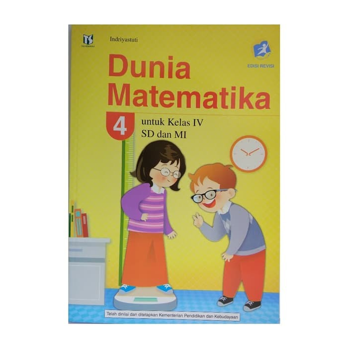 Jual Buku Sd Kelas 4 Dunia Matematika 4 Sd Kurikulum 2013 Revisi Lulus Jakarta Barat Tiang Ilmu Tokopedia
