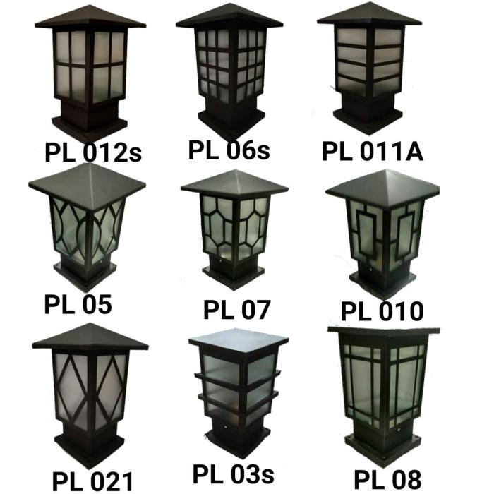 Jual Lampu Hias Taman Pagar Pilar Minimalis Luar Ruangan Kota Bogor Produksi Lampu Hias Tokopedia