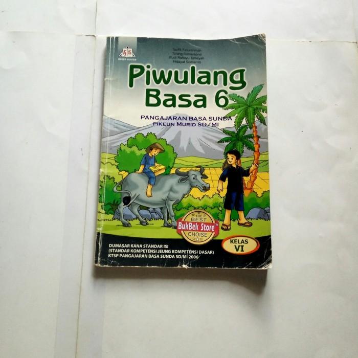 Jual Buku Pelajaran Piwulang Basa Sunda Kelas 6 Sd Mi Buku Bekas Ktsp 2006 Kota Tasikmalaya Bukbek Store Tokopedia