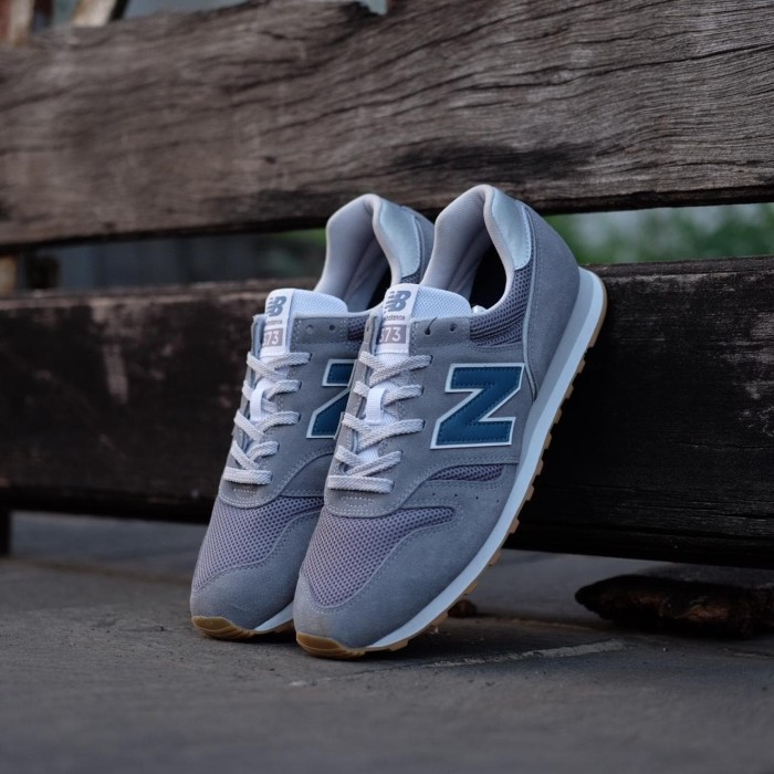 New Balance 373 Grey Blue