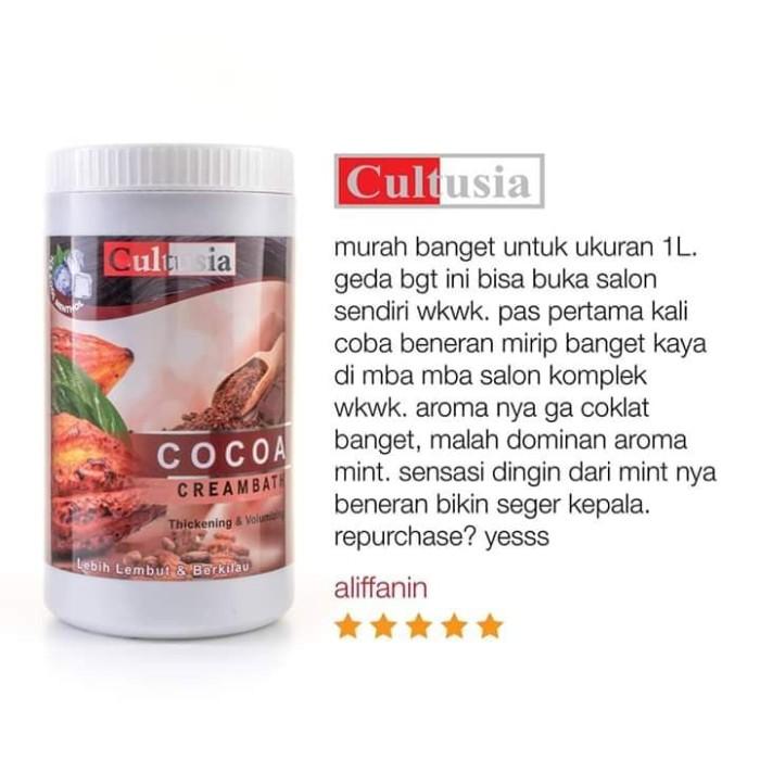 Jual Creambath Cultusia Ukuran 1 Kg Variant Coklat Kota Serang Dhu Tokopedia