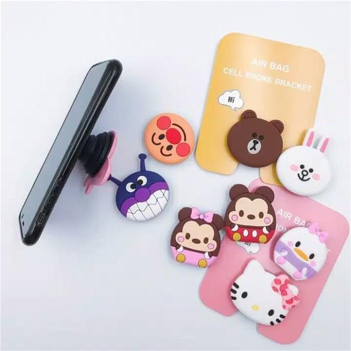 Jual 3d Pop Socket Hp Karakter Hiasan Belakang Hp Tempelan Hp Penyangga Hp Kota Batam Butet Store Tokopedia