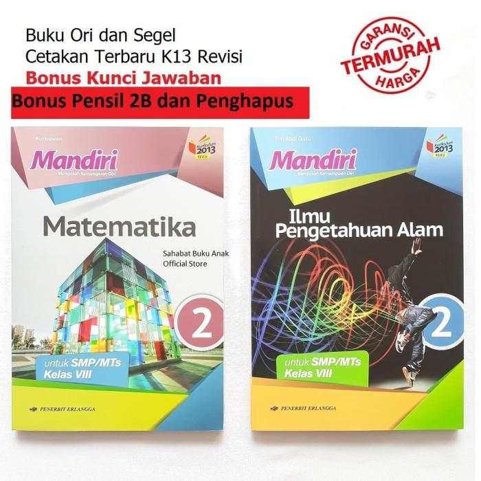 Jual Paket Buku Mandiri Erlangga Kelas 8 Ipa Matematika Kunci Jawaban Kab Tangerang Sahabat Buku Anak Tokopedia
