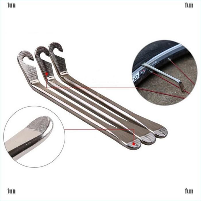 3 PCS Bike Cycling Bicycle Tyre Tire Lever Repair Opener Breaker Tool-P1