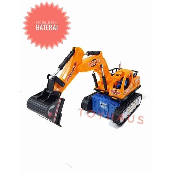 Jual Mainan Anak Laki Laki Mobil Beko Excavator Baterai Lampu Dan Musik Jakarta Barat Harjianto Tokopedia