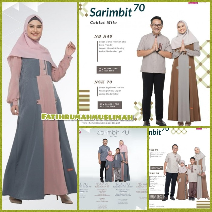 Jual New Gamis Nibras Terbaru Gamis Nibras Sarimbit Nibras Nb A40 Gamis Kota Tangerang Selatan Fatih Rumah Muslimah Tokopedia