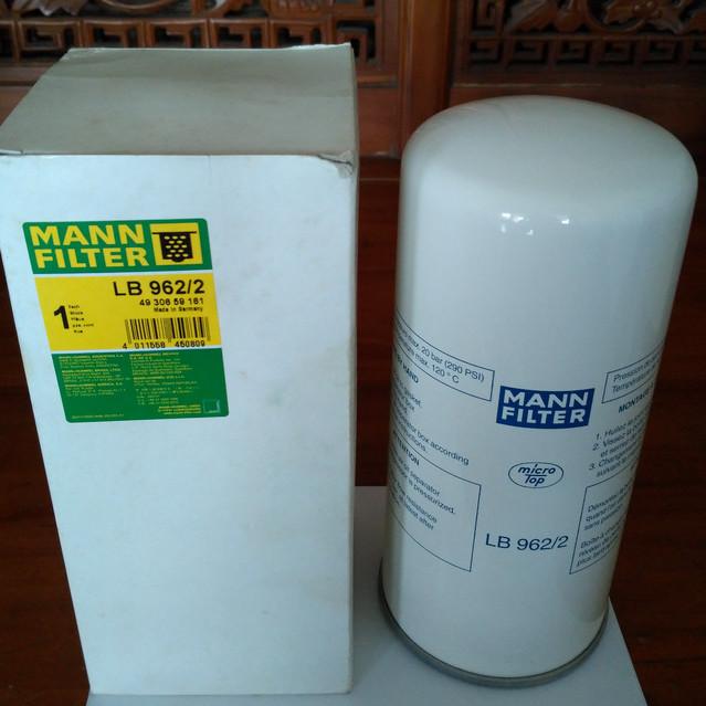 OIL FILTER MANN-FILTER LB 962//2
