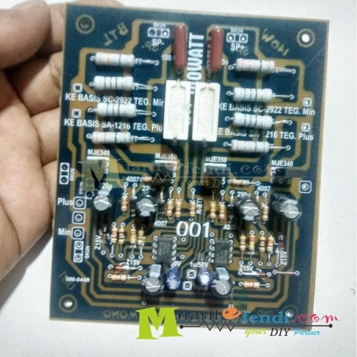 Jual Kit Power Amplifier Btl 140watt 001m Kota Surabaya Intananaa Tokopedia